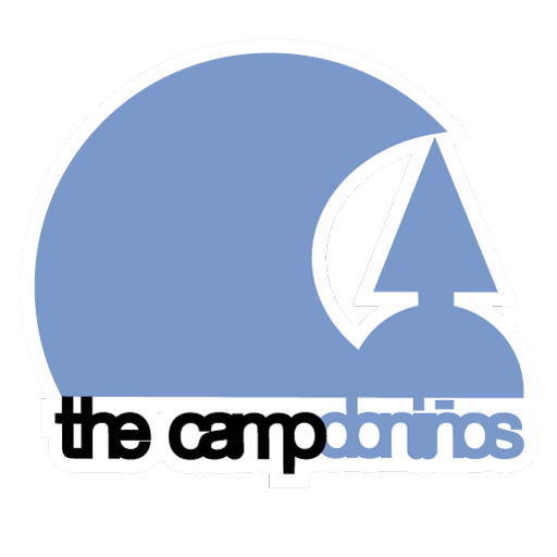 logotipo de The Camp Surf School